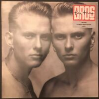 BROS - THE TIME - Vinyl LP 1989 CBS CB291 VG+/EX