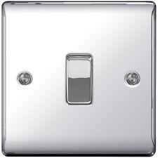 Polished / Mirror Chrome INTERMEDIATE  Light Switch - 10amp