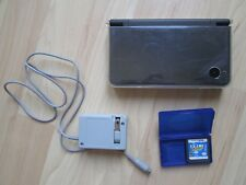 NINTENDO DSi XL~Gray Blk w/case~AC Adapter~CLUB PENGUIN W/CASE~Handheld System~