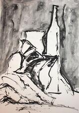 Dealer or Reseller Still Life Ink Art Paintings