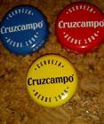 Chapa tappi capsule kronkorken bottle cap exotic crown Cruzcampo Cerveza