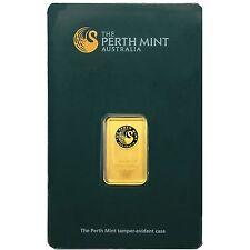 Australian Perth Mint 5 Gram Gold Bar