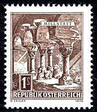 1324 postfrisch Österreich Jahrgang 1970 Freimarke Millstatt Säule Architektur