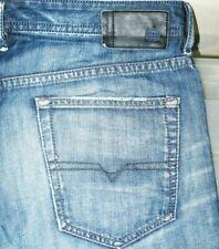 *HOT AUTHENTIC Men's DIESEL @ BUSTER 842N Slim TAPERED DARK Denim Jeans 36 x 32