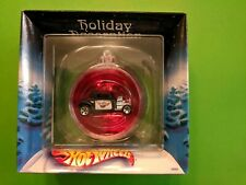 HOT WHEELS HOLIDAY ORNAMENT from 2002