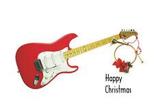 Guitar Christmas Card, GREETINGS CARDS, SP590, Spartan Press
