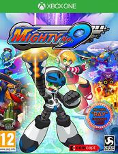 """Mighty no.9 include """" RAGGIO """" ESPANSIONE+Artbook+POSTER (Xbox One) NUOVO -"""