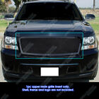 Fits 2007-2013 Chevy Tahoesuburbanavalanche Black Mesh Grille Grill