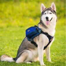 Paw Essentials MWG-C320 Dog Backpack Medium Large Dogs Harness With Removable Ad