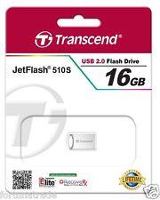 16gb USB STICK Transcend  ca.22mm Mini Micro 16GB Nano Fortuna Trade TS16GJF510S