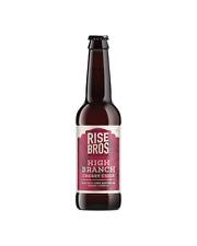 Rise Bros. High Branch - Dark Cherry Cider 330mL case of 24 Fruit Cider