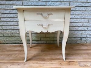 2 of 2: Ethan Allen Maison of Ethan Allen- Patrice 2-Drawer Table