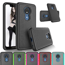 For Motorola Moto T-Mobile Revvlry / G7 Play Phone Case Shockproof Hard Cover