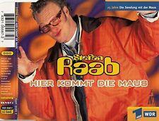 STEFAN RAAB : HIER KOMMT DIE MAUS / 4 TRACK-CD - TOP-ZUSTAND