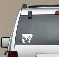 Arkansas Buck deer decal sticker bow rifle scope hunt state diesel turbo AR