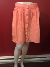 BONGO PLUS Women's Electric Pink Colored Skater Skirt - Size 2X - NWT