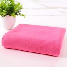 Fast Drying Beach Bath Towel Gym Sport Pink Microfiber Luxury Soft Face Towel SA