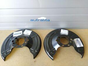 2x Genuine OPEL FOR ZAFIRA A, ASTRA G Rear Splash Panel, brake disc 90498290