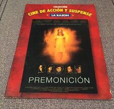 PREMONICION CINE ACCION DIARIO LA RAZON - DVD SLIMCASE CARTON CON EXTRAS 112 MIN