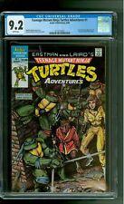 Teenage Mutant Ninja Turtles Adventures 1 CGC 9.2 NM- 1st Krang Bebop Rocksteady