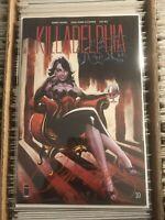 KILLADELPHIA #10 J SCOTT CAMPBELL VARIANT COVER SIGNED COA 2020 liz hurley