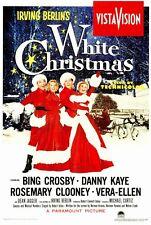 WHITE CHRISTMAS Movie MINI Promo POSTER Bing Crosby Danny Kaye Rosemary Clooney