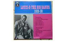 LOUIS ARMSTRONG * LOUIS & THE BIG BANDS 1928-30 * VINYL LP PMC 7074 PLAYS GREAT