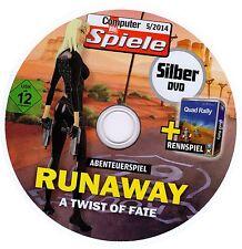 Runaway-a twist of Fate + quad rally (jeu d'aventure, rennspiel) pc NEUF