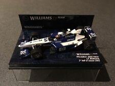 Minichamps Williams F1 BMW Fw24 Juan Pablo Montoya 2nd Half of Season 2002