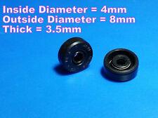 Rc Submarine - Shaft seals Id 4mm X Od 8mm X T 3.5mm - 1pair - Water Proof