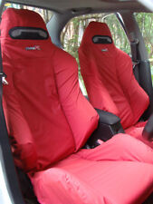 Honda Integra Type R DC5 RECARO Seats Cover Set - 2pcs (Red)