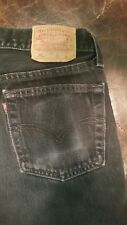 "80's 90's Levis 501 ""Student""  Made in USA  Denim Jeans-Tag 31x30  (29x29)"