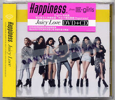 Happiness: Juicy Love (2014) E-Girls Japan / CD & DVD TAIWAN