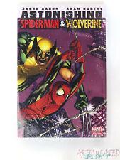 SEALED!! Astonishing Wolverine and Spider-man Hardcover HC Marvel