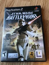 Star Wars: Battlefront (Sony PlayStation 2, 2004) PS2 Cib Game H1
