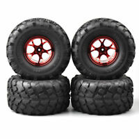 12mm Hex  1:10 RC Bigfoot Wheels & tires Rubber for Traxxas Monster Truck Car