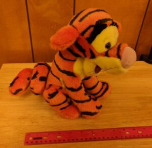 "Disney Canasa Trading Winnie the Pooh Plush Stuffed TIGGER Curly-Q Tail 10"""