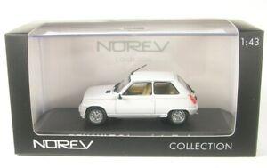 Renault 5 (R5) Laureate Turbo (weiss) 1985  1:43 NOREV