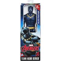 Marvel Avengers Titan Hero Series Retro Black Panther 12 inch Action Figure Toy