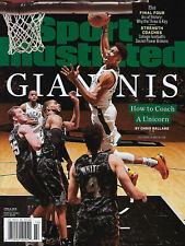 2019 Giannis Antetokounmpo Sports Illustrated 4/8/19 SI newsstand magazine BUCKS
