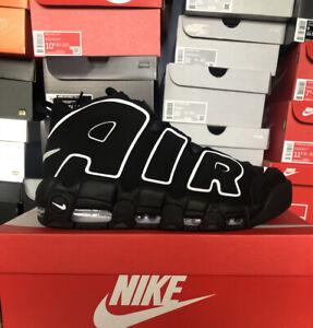 Nike Air More Uptempo Black White UK 11