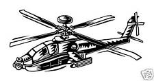 Helicopter military vinyl decal mural sticker wall art