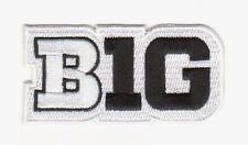 IOWA  BIG TEN PATCH WHITE JERSEY NCAA COLLEGE FOOTBALL  BASKETBALL