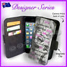 For Apple iPhone 5C Wallet Card Flip PU Leather Marilyn Monroe Famous Quote 79