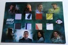 DEXTER SEASON 3  BREYGENT COSTUME 8-SWATCH CARD SDCC