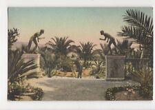 Corfou Achilleion Le Jardin Vintage Postcard 130a