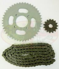 Chain & Sprockets Set for Yamasaki YM125-3 Motorcycle Chinese CG125