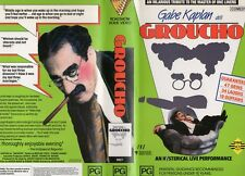 GROUCHO - Gabe Kaplan - VHS - PAL - NEW - Never played! - Original Oz release