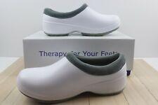 LANDAU FOOT WEAR RX Women Medical Nursing Clogs Shoes White Size 6