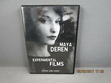 Maya Deren  Experimental Films DVD  Plus In the Mirror of Maya Mystic Fire Video